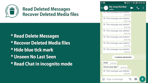 Recover Deleted Messages screenshot 1