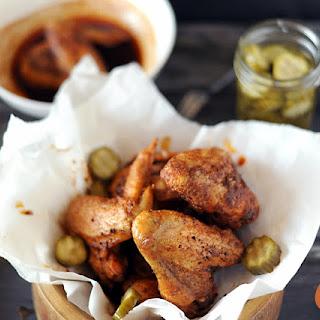 Grilled Nashville Hot Chicken.