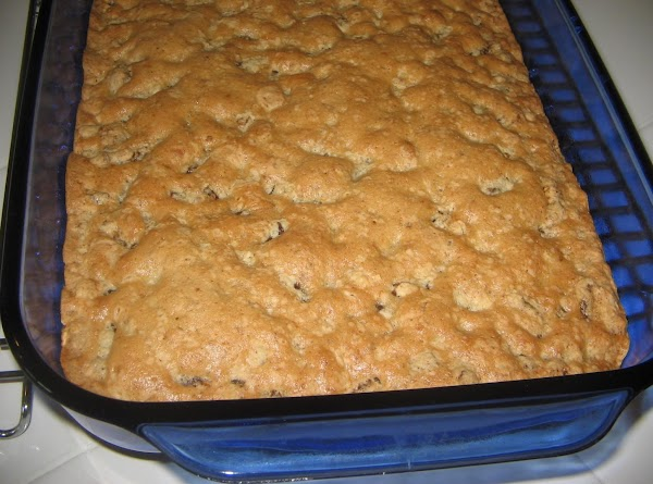 my photo and my dish of date bars cooling.