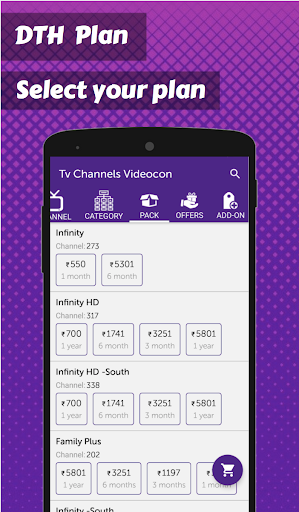Foto do App for Videocon d2h TV Channels List-All Channels
