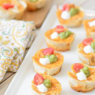 Cheesy Chicken Enchilada Bites