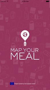 Map Your Meal screenshot