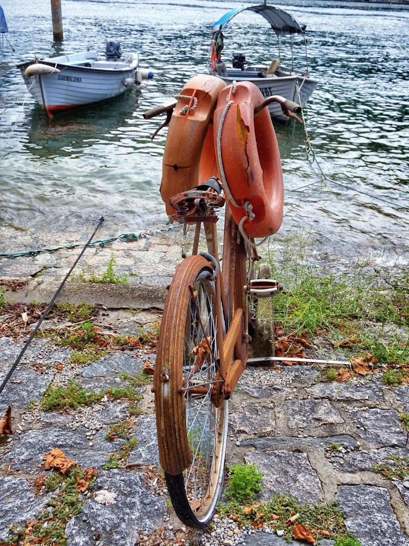 When a old bicycle became art di Angy_photo