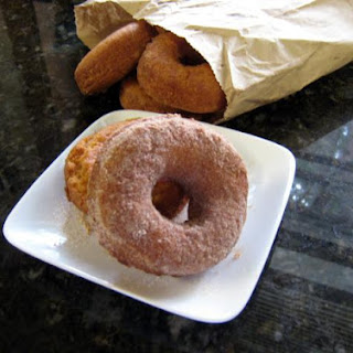 Homemade Plain Doughnuts