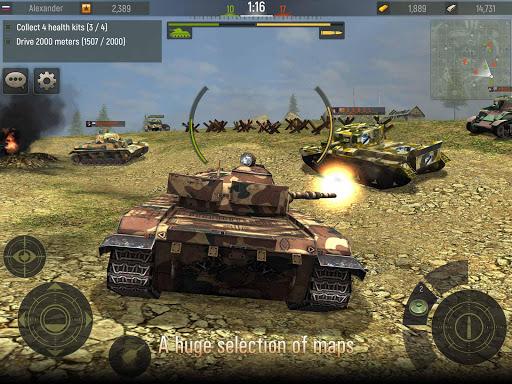 Grand Tanks: Best Tank Games 3.03.6 screenshots 8
