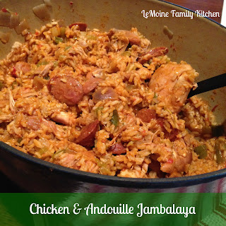 Chicken & Andouille Jambalaya