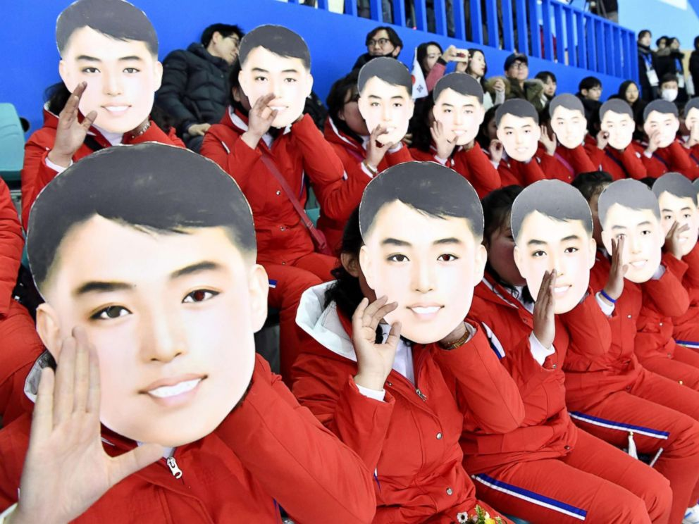 North Korea Brought 200 Beautiful Cheerleaders To The Olympics And