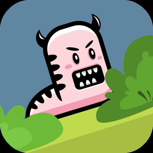 【カジュアルゲーム】 SLUG 動作 App LOGO-APP試玩