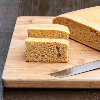 Garbanzo Bean Vanilla Protein Cake