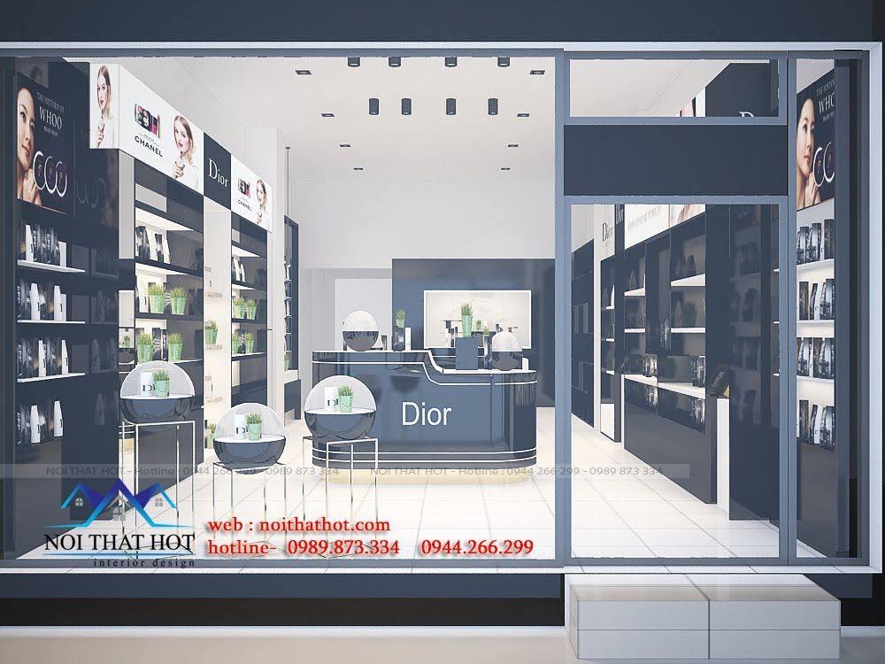 thiết kế shop mỹ phẩm châu âu 2