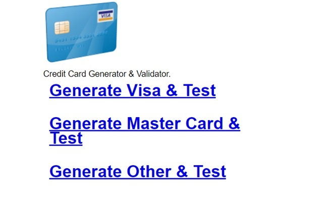(8). Productivity. 1,100 users. Overview. Credit card number generator ...