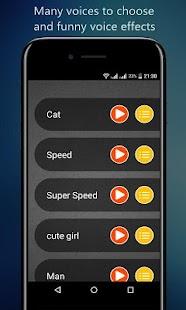 Voice Changer App - náhled