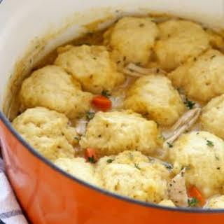 Turkey and Dumplings Soup.