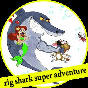 zig shark super adventure - náhled