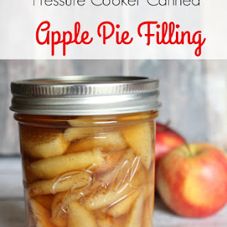 Canned Apple Pie Filling.