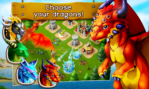 Clash of Dragons- screenshot thumbnail