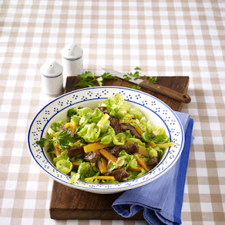 Warm Steak and Brussels Sprout Salad