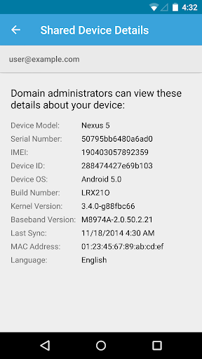 Google Apps Device Policy 14.20.00 screenshots 1