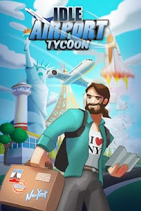 Idle Airport Tycoon – Tourism Empire Mod Apk Download For Android and Iphone 1