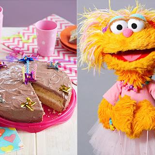 Cookie Monster's Favorite Molasses Crackle Cookies