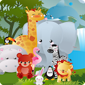 Animaux Memory Game For Kids icon