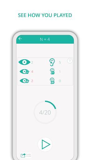 Dual N-Back 2.5.2 screenshots 4