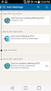 AAD Meeting App- screenshot thumbnail
