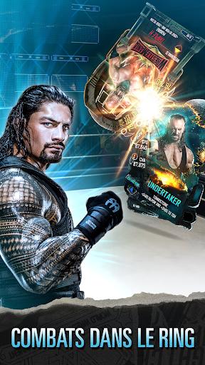 WWE SuperCard - Jeu de cartes multijoueur  captures d'u00e9cran 1