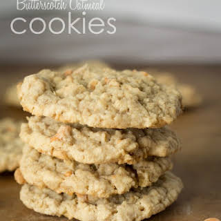 Butterscotch Oatmeal Cookies.