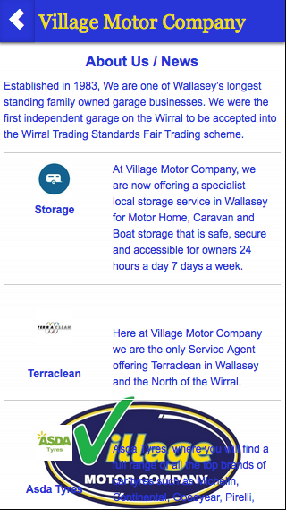 Village Motor Company- screenshot