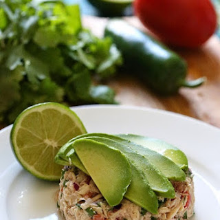 Canned Tuna Ceviche.