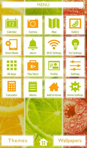 Fruity Stripes +HOME Theme 1.0.0 Windows u7528 2