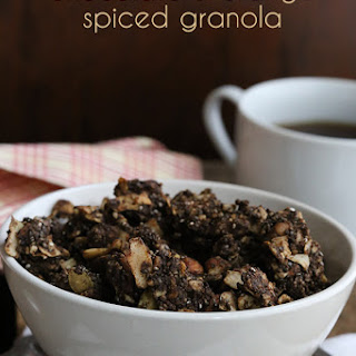 Chocolate & Orange Spiced Granola