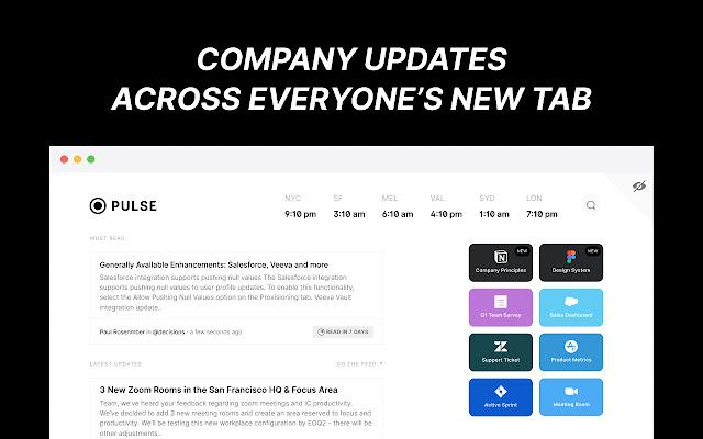 Pulse Async - New Tab