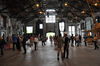 Photo: A general view of the main hall of NADA Hudson 2012