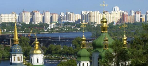 Férias românticas em Kiev