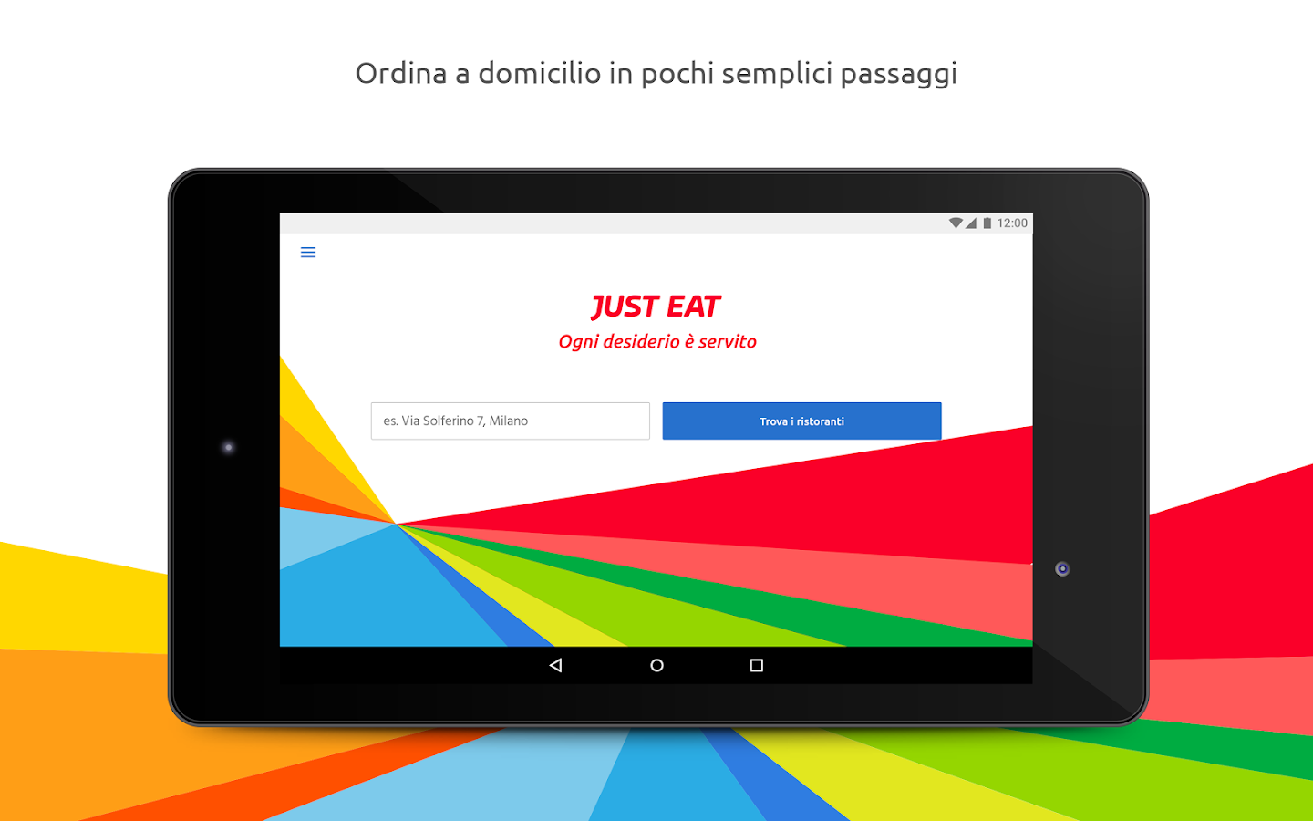 Just Eat - Pizza a Domicilio- screenshot