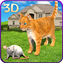 Cat vs Mouse Chase 3D icon