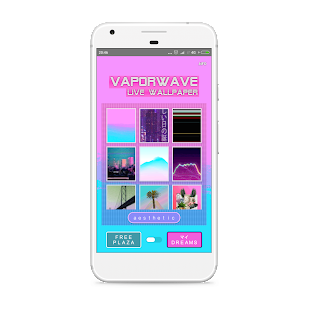 VAPORWAVE Live Wallpaper 🌊 Screenshot