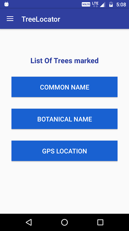 Tree Locator- screenshot
