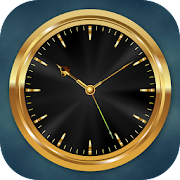 Luxury Golden Clock Live Wallpaper