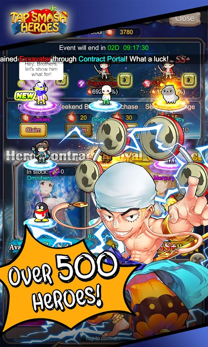 Tap Smash Heroes: Idle RPG Game Android 4