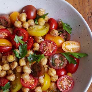 Tomato Chickpea Salad
