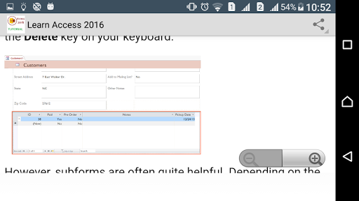 Learn Access 2016 Easy screenshot 5
