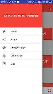 App LINK PAN CARD WITH AADHAR- (EASY AND SIMPLE APP) APK for Windows Phone