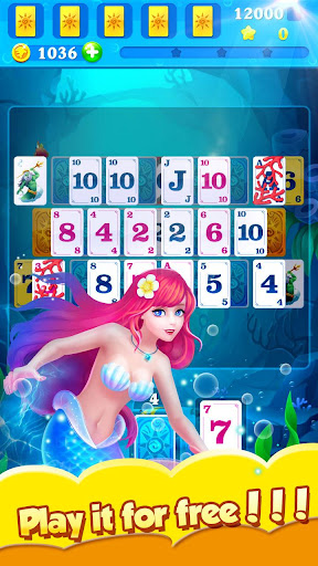 Solitaire Mermaid & Fish 1.8.30 screenshots 2
