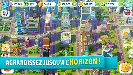 Code Triche City Mania: Town Building Game APK MOD screenshots 5