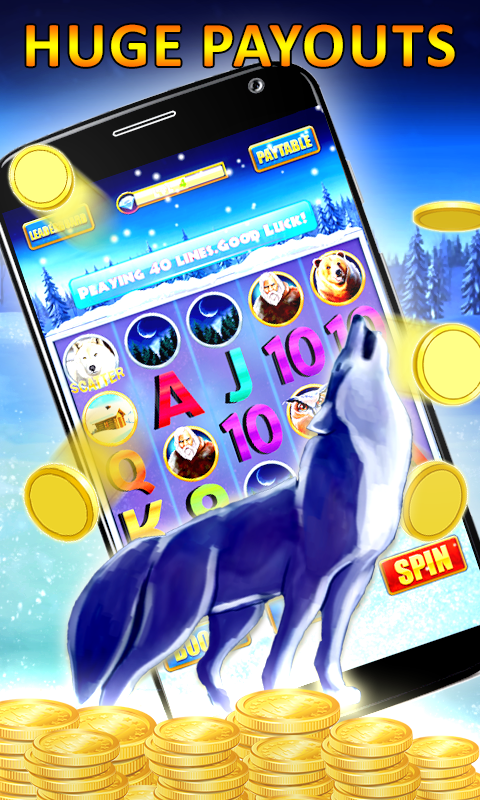 Slot Machine Timber Wolf Android Apps On Google Play