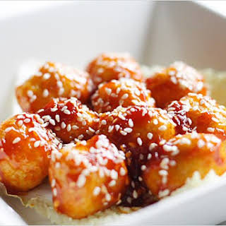 Sweet and Sour Fish Balls.