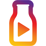 Samsung Milk Video Icon